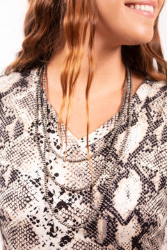 Little Layers Navajo Pearl Necklace