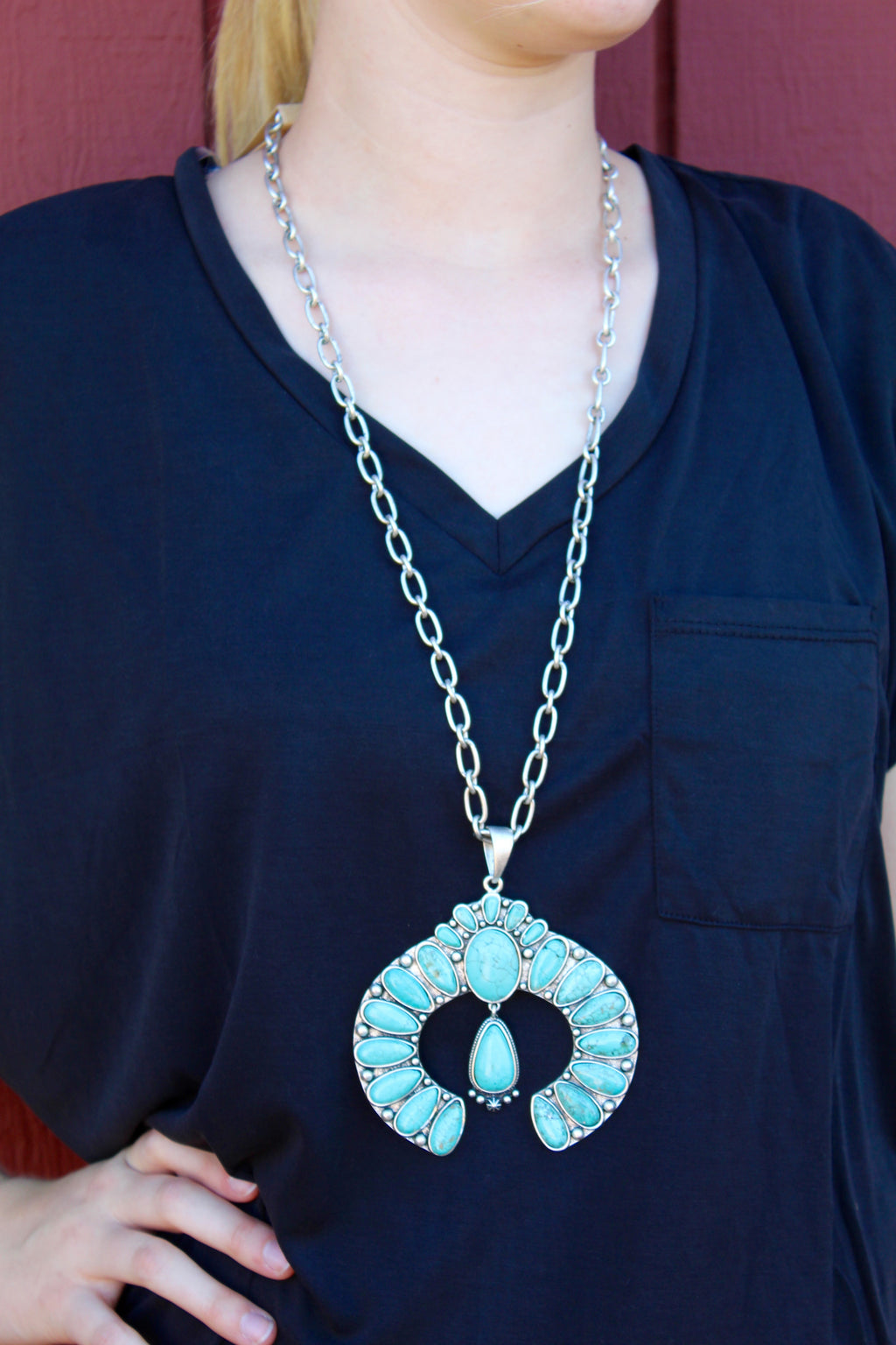 Dear Rodeo Turquoise Necklace
