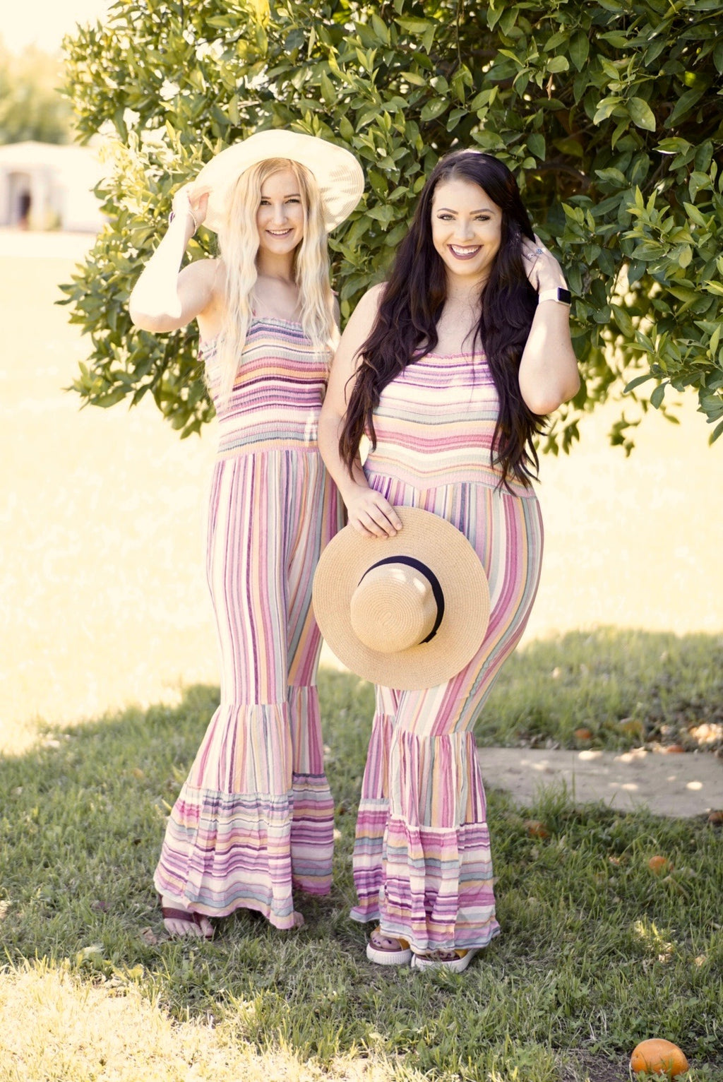 Sherbert Bell Bottom Jumpsuit
