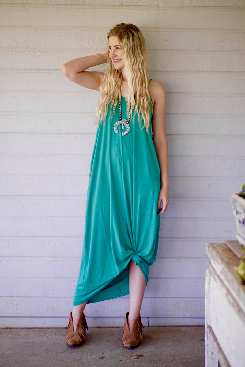 The Emerald Maxi Dress