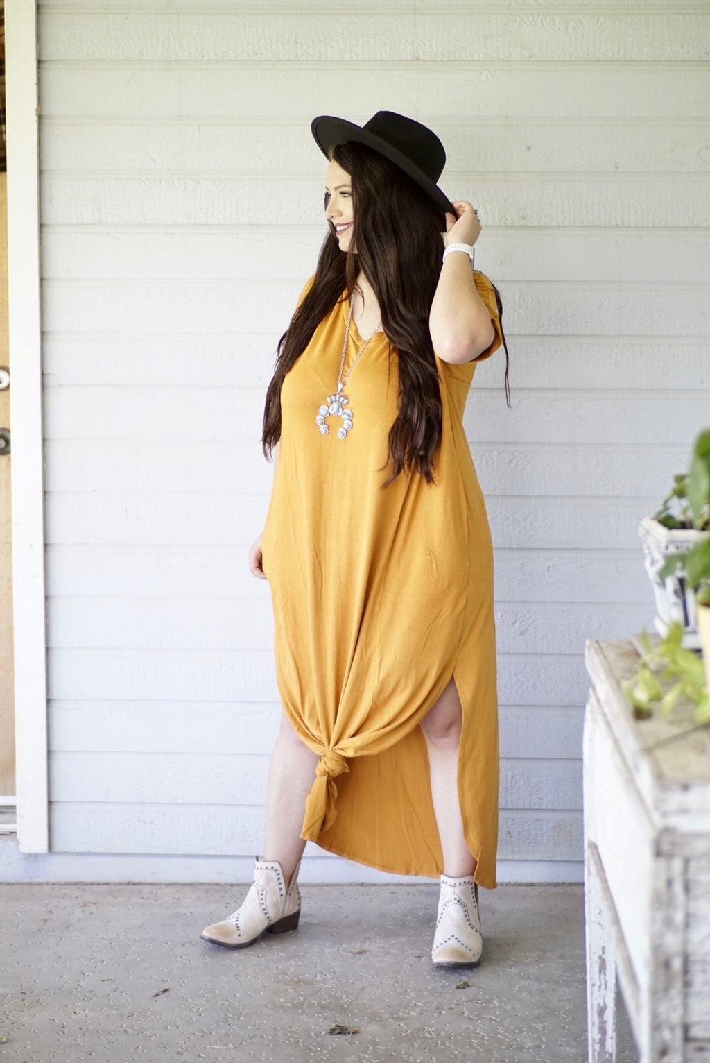Plus Size Georgia Sun Maxi Dress