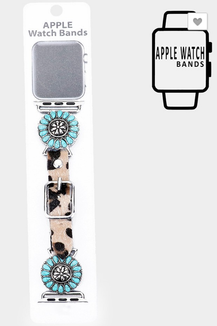 Spotted in Turquoise Heaven Apple Watch Band