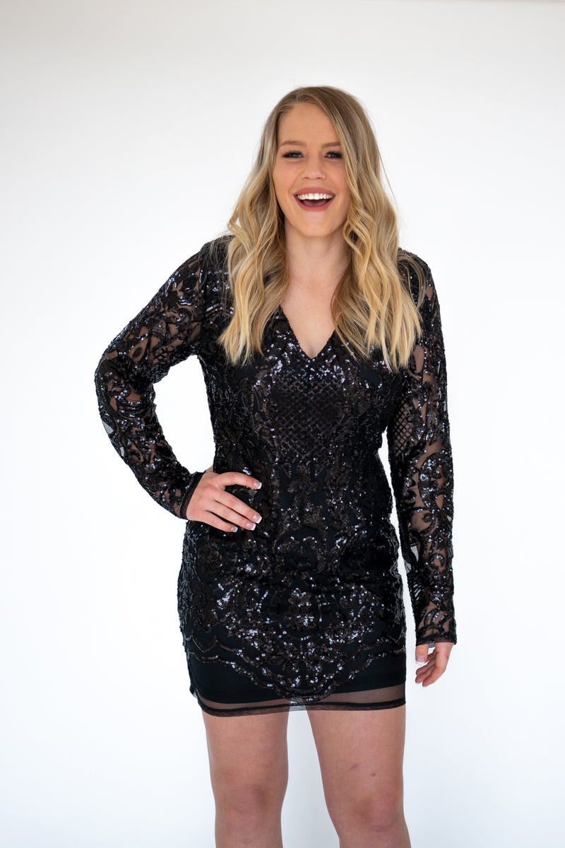 New Year's Day Bodycon Mini Dress