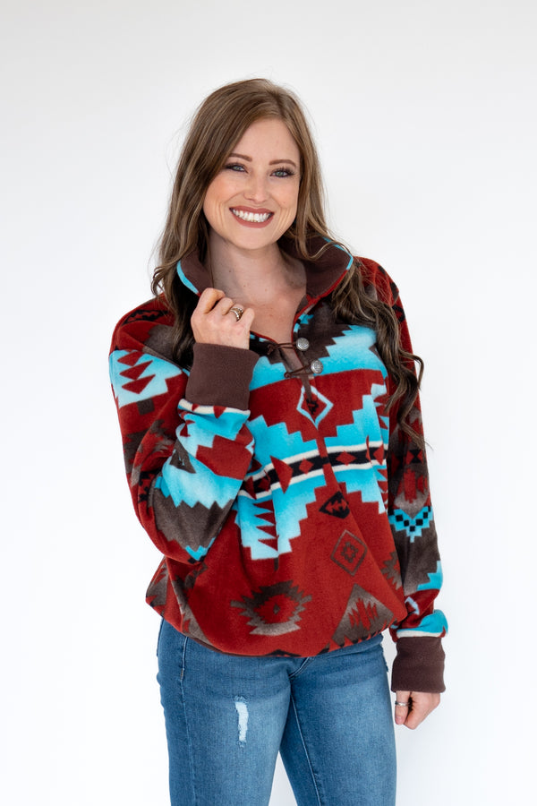 *PRE ORDER ONLY * Red Rock Canyon Pullover