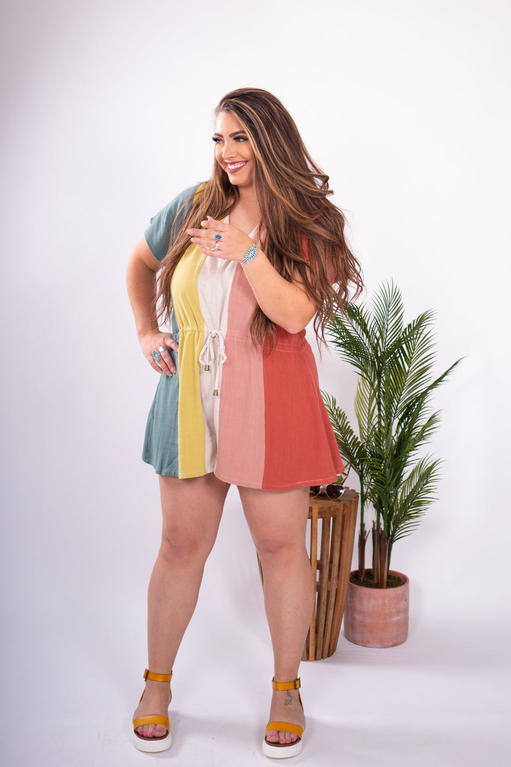 Rainbow Connection Romper
