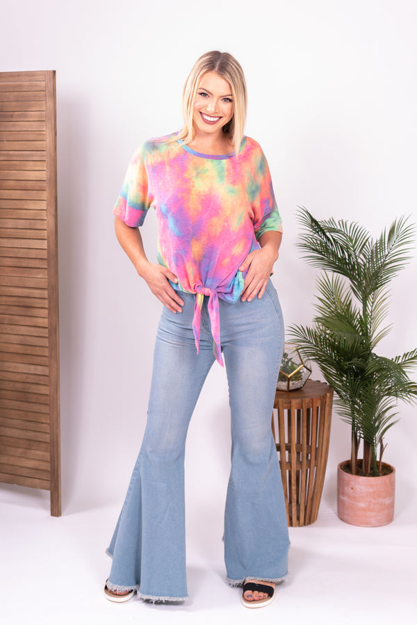 The Wild Child Denim Bell Bottoms