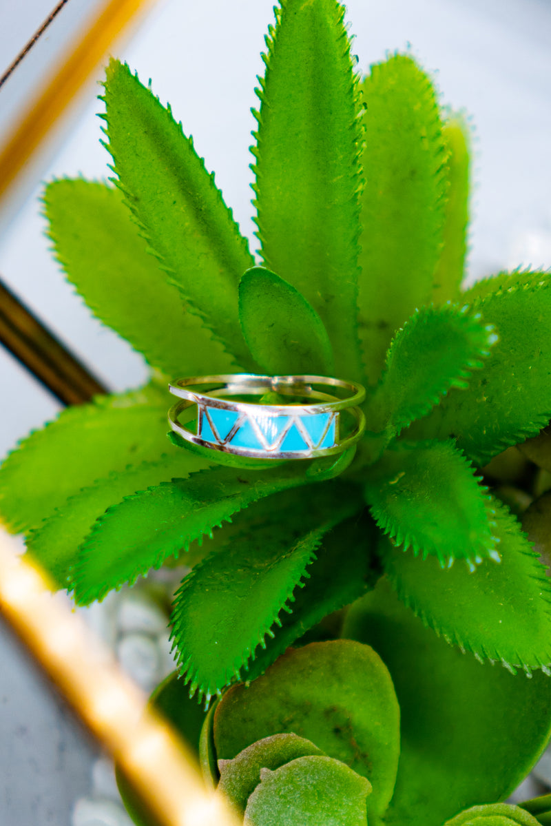 Turquoise Dream Sterling Silver Ring