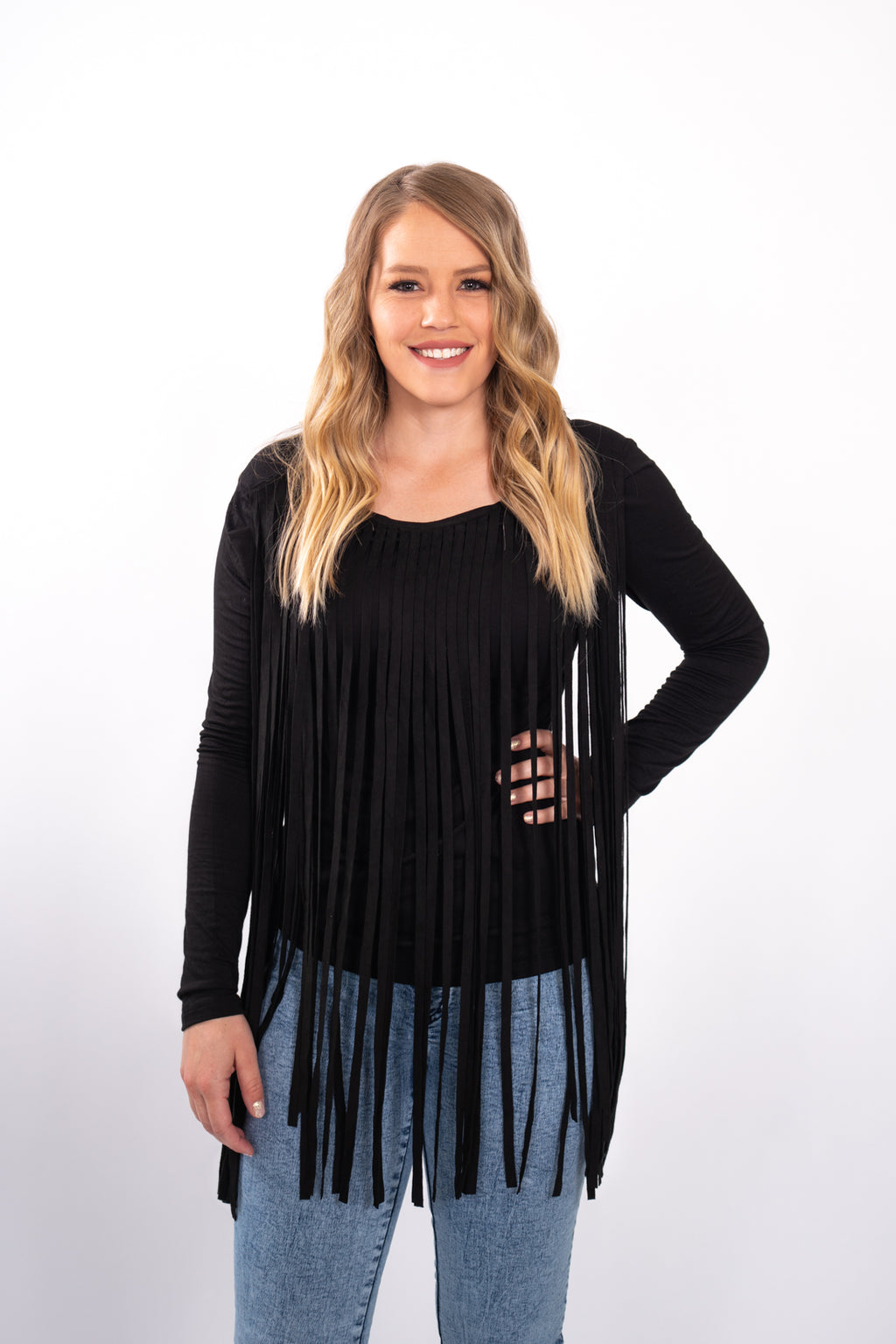 Midnight Rider Fringe Top