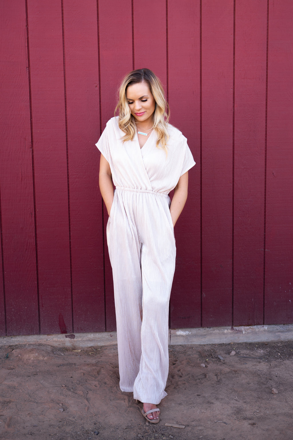 Platinum Gold Jumpsuit
