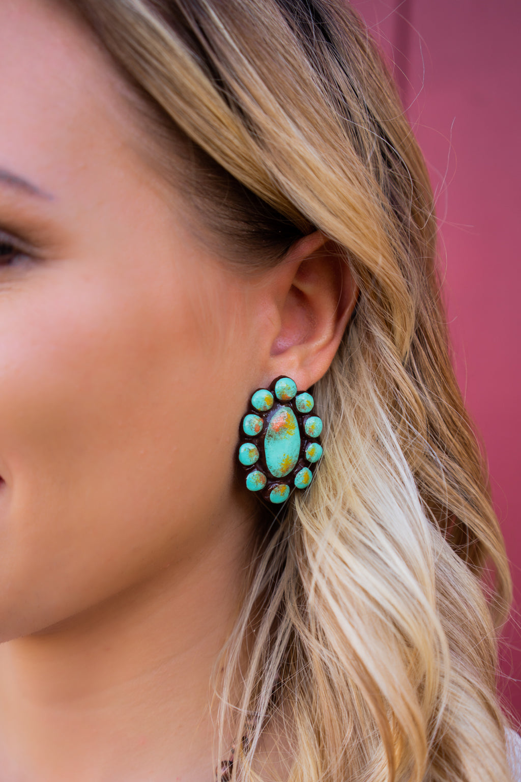 Waxahachie Stud Earrings