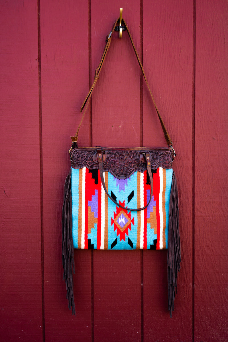 Southern Sunset Saddleblanket Bag