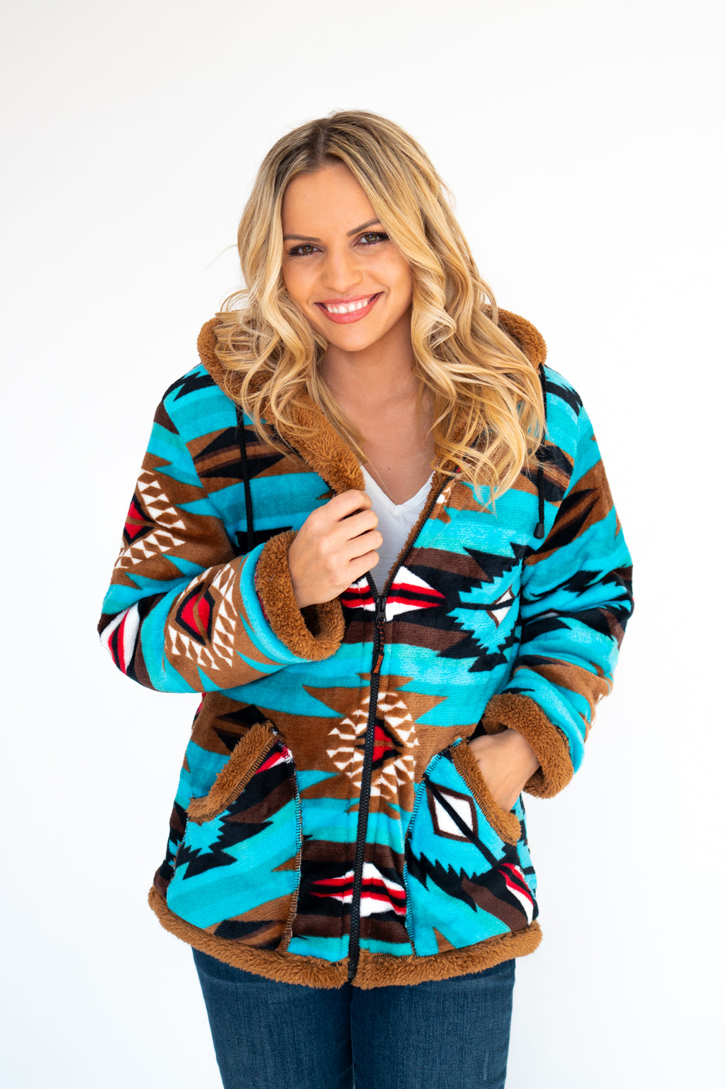 Telluride Aztec Zip Up