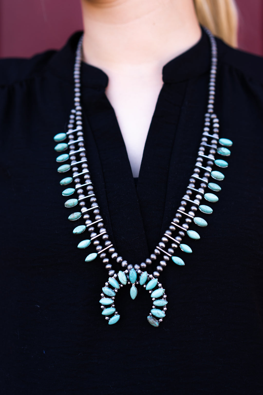 Blue Collar Turquoise Necklace