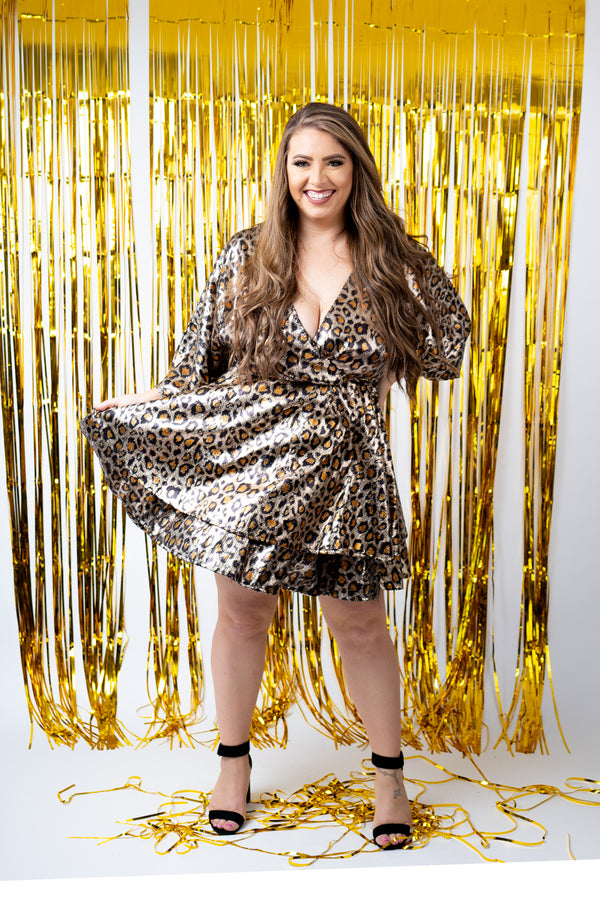 On The Prowl Sequin Midi Dress