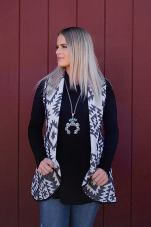 Warm In Aztec Vest