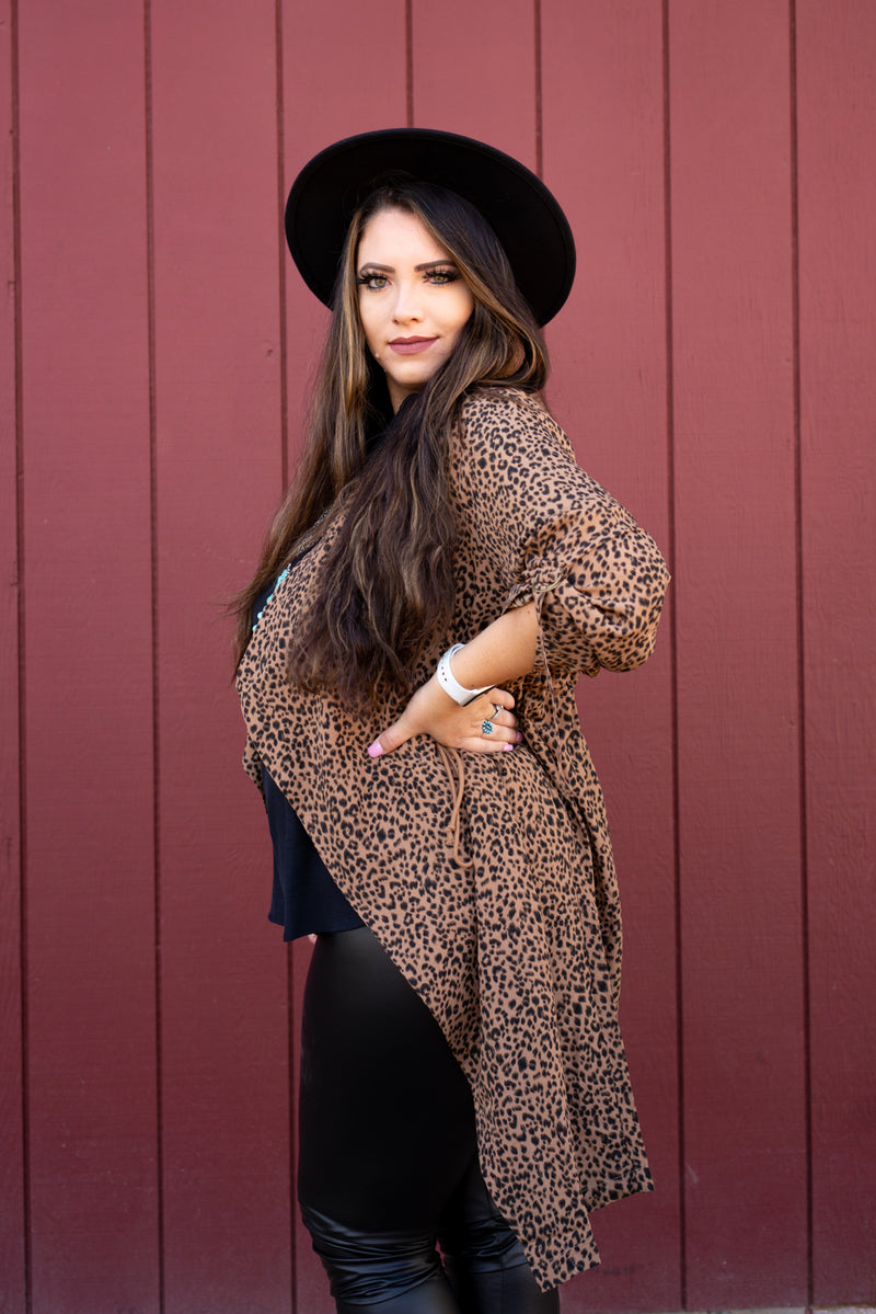 Leopard Queen Wind Breaker