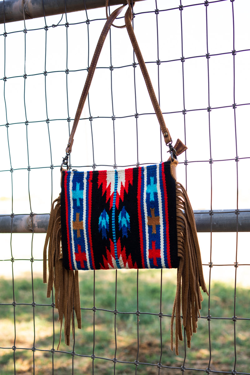 Queen Of The Rodeo Mini Fringe Bag