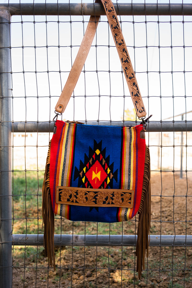 Jackson Hole Saddle Fringe Bag