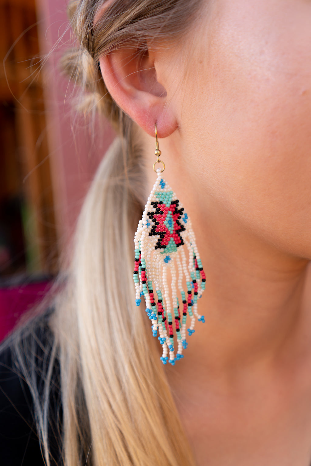 Wild and Aztec Earrings