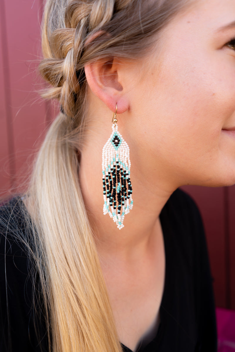 Beaded And Needed Earrings
