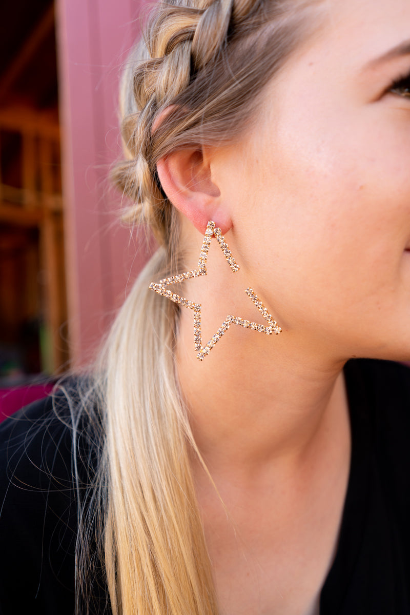 Starstruck in Gold Earrings