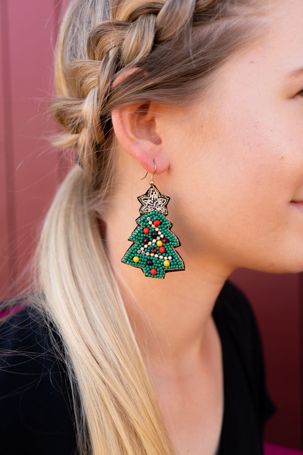 Chritsmas Tree Earrings