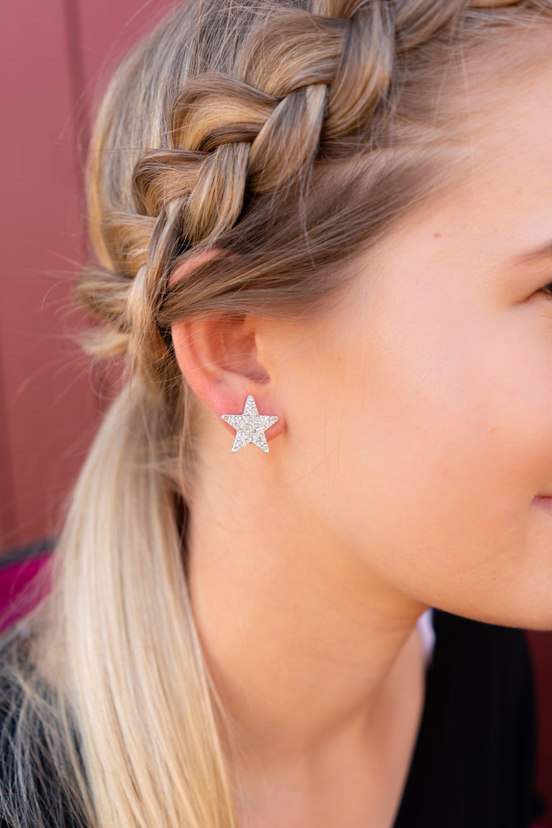 Star Bright Stud Earrings