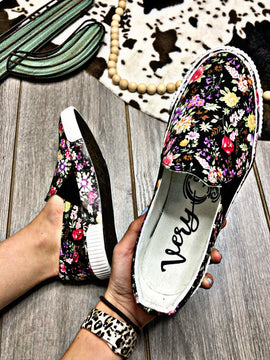The Floral Roxanne Slide Sneakers