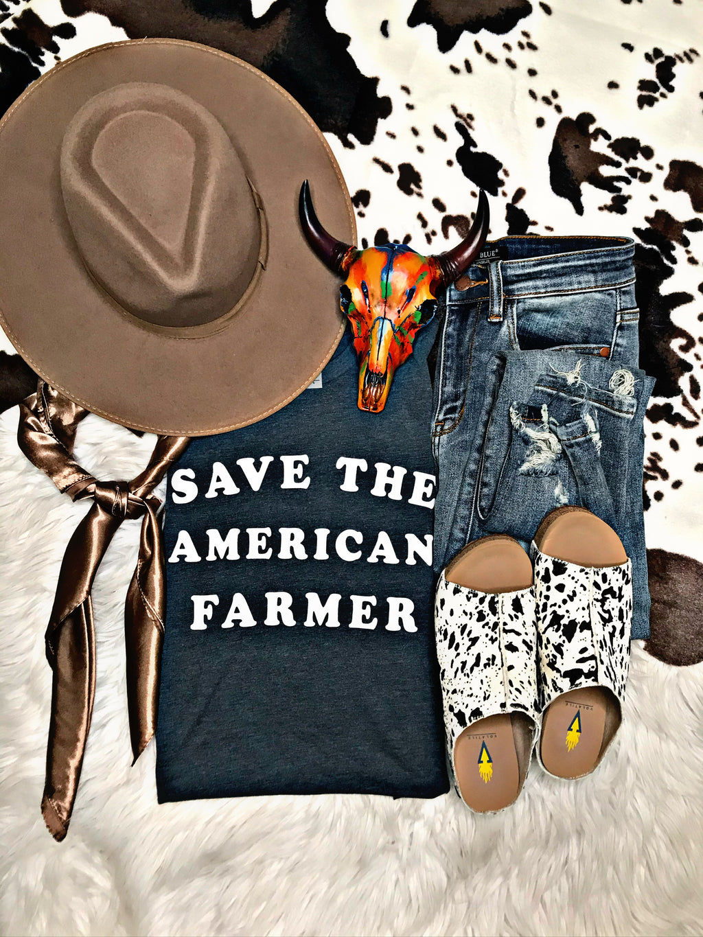 Save The American Farmer Tee