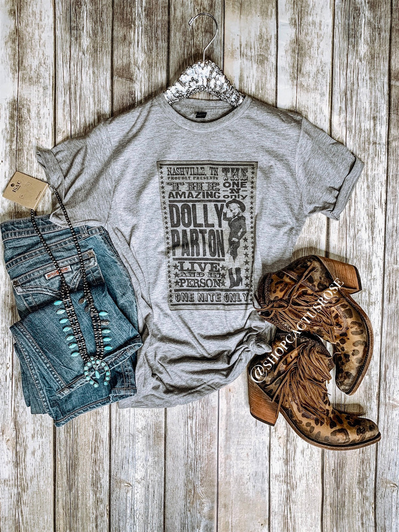 Dolly Live and In Person Tee