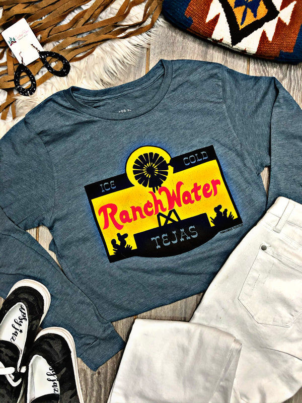 Ranch Water Long Sleeve Graphic Tee