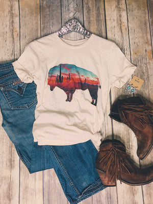 Arizona Buffalo Tee