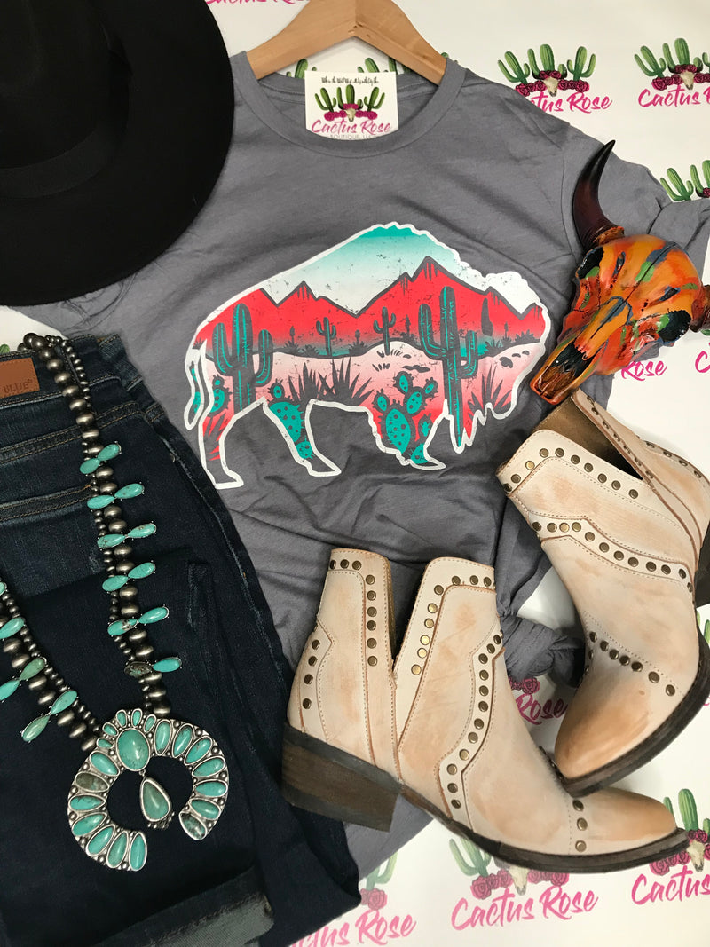 Arizona Bison Tee