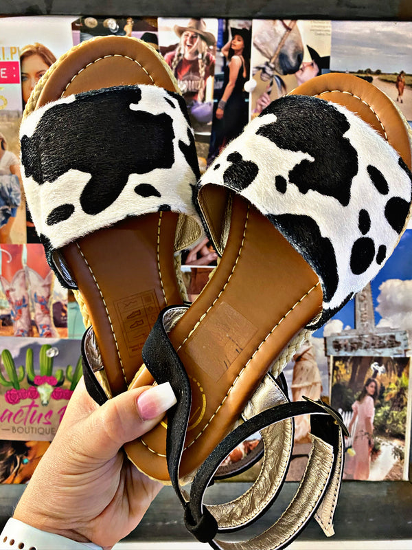 Moovin On Out Summer Sandal