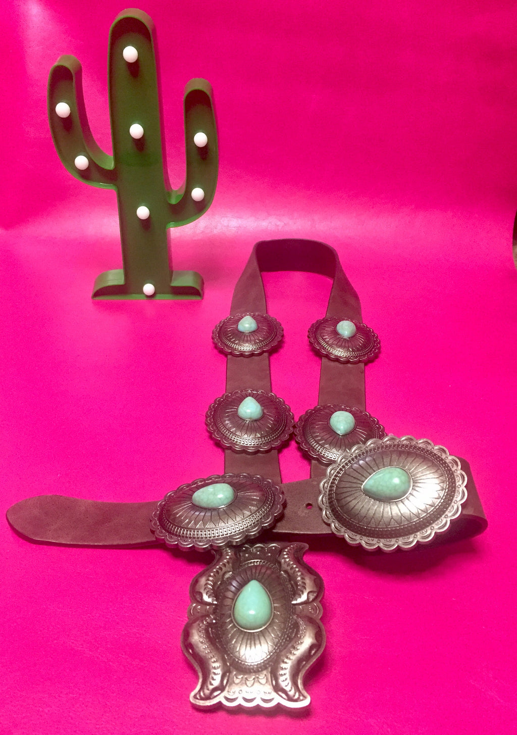 Genuine Cowgirl Concho Belt