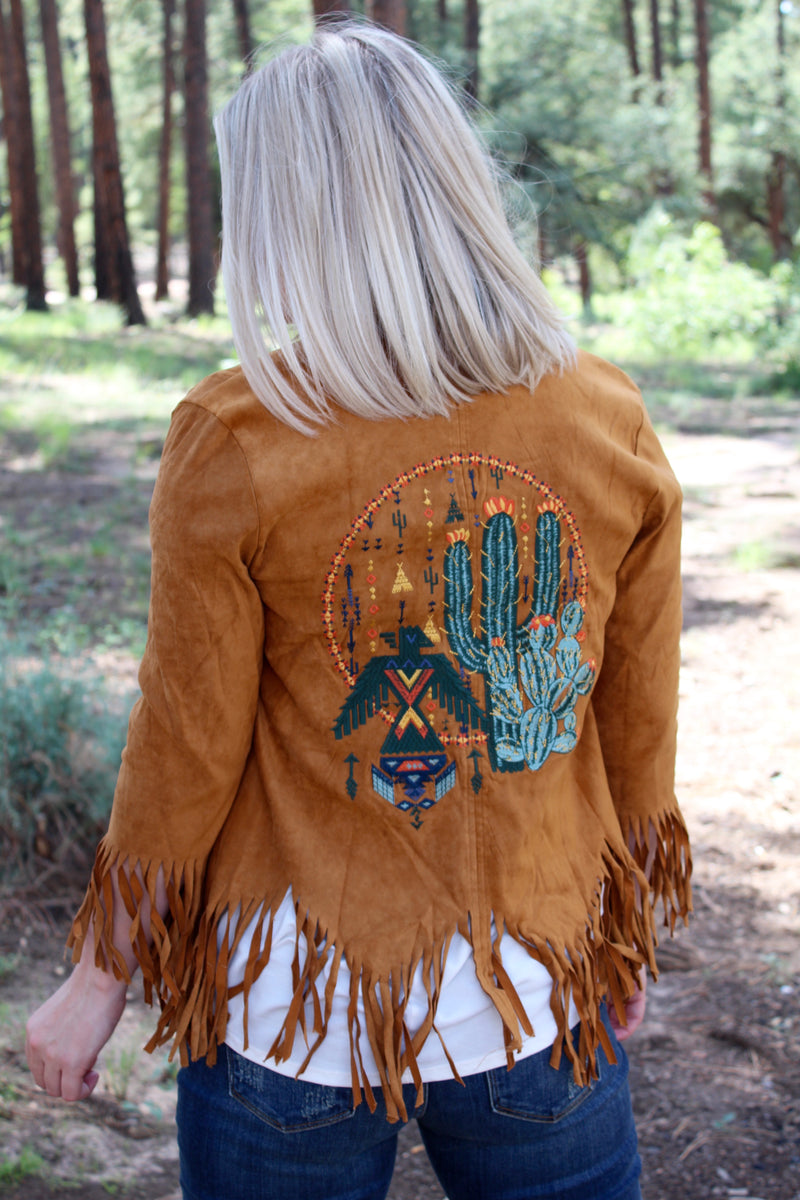 All Out Arizona Fringe Jacket