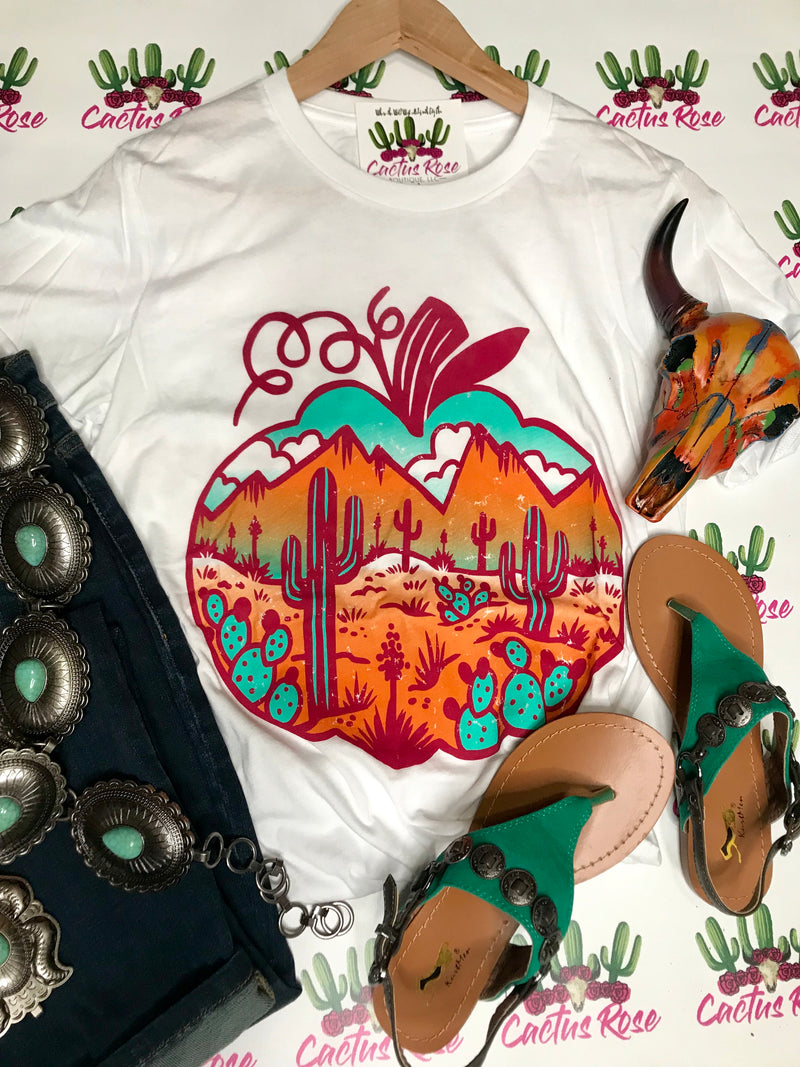 Pumpkin Desert Dreams Tee