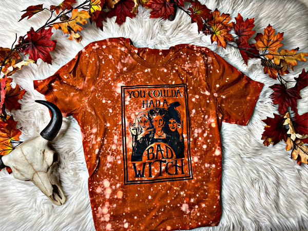Bad Witch Bleached Out Tee
