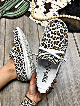 Lady May Leopard Sneakers