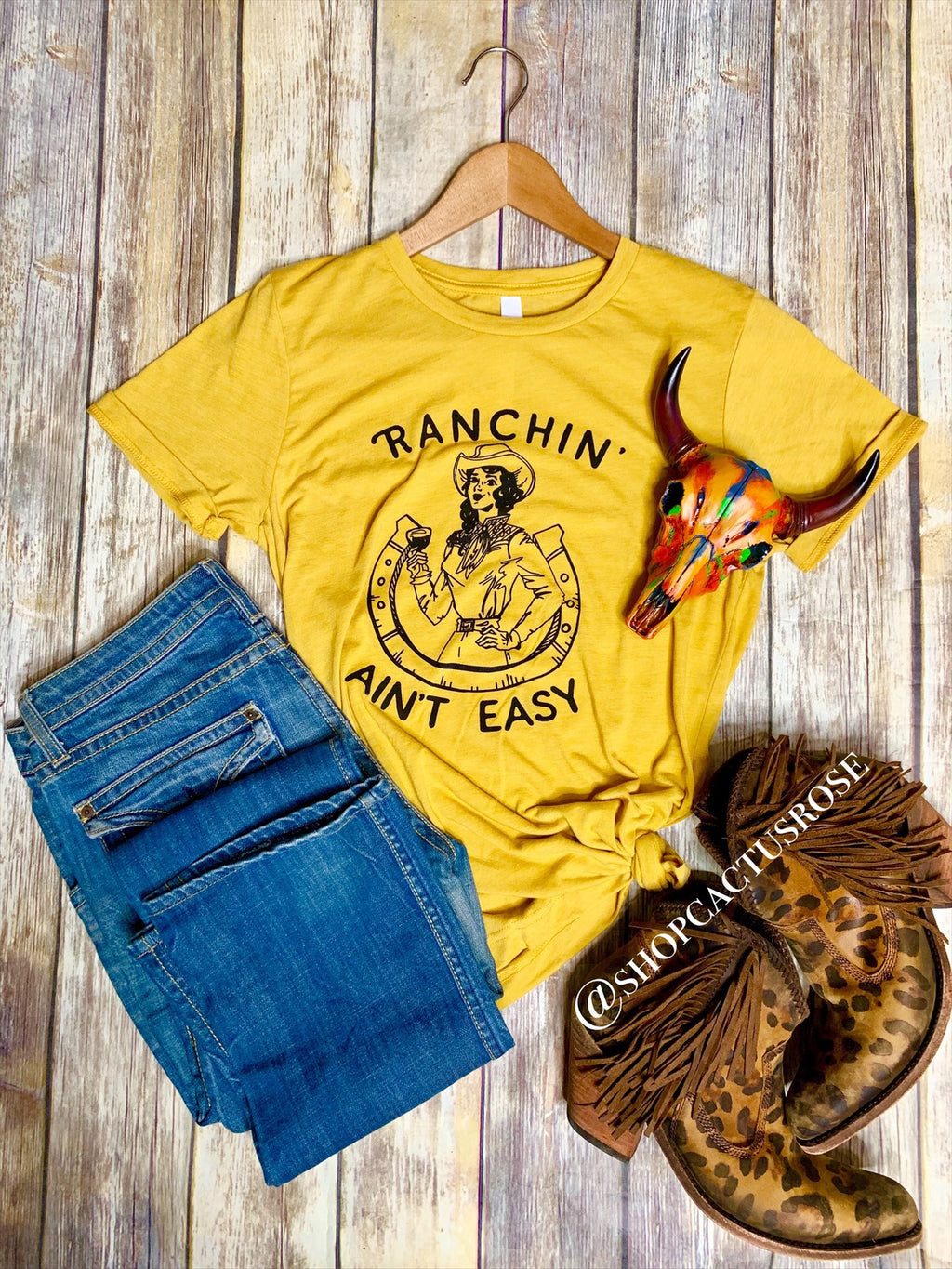 Ranching Ain't Easy Tee