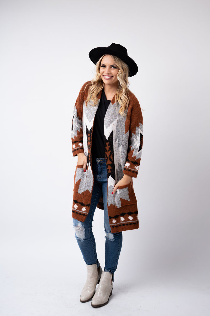 West Texas Wind Cardigan