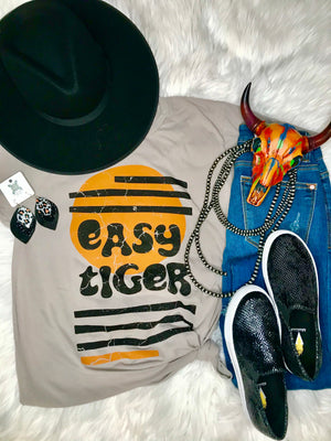Easy Tiger Distressed Tee