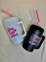 Off Duty Mommy 22oz Tumbler