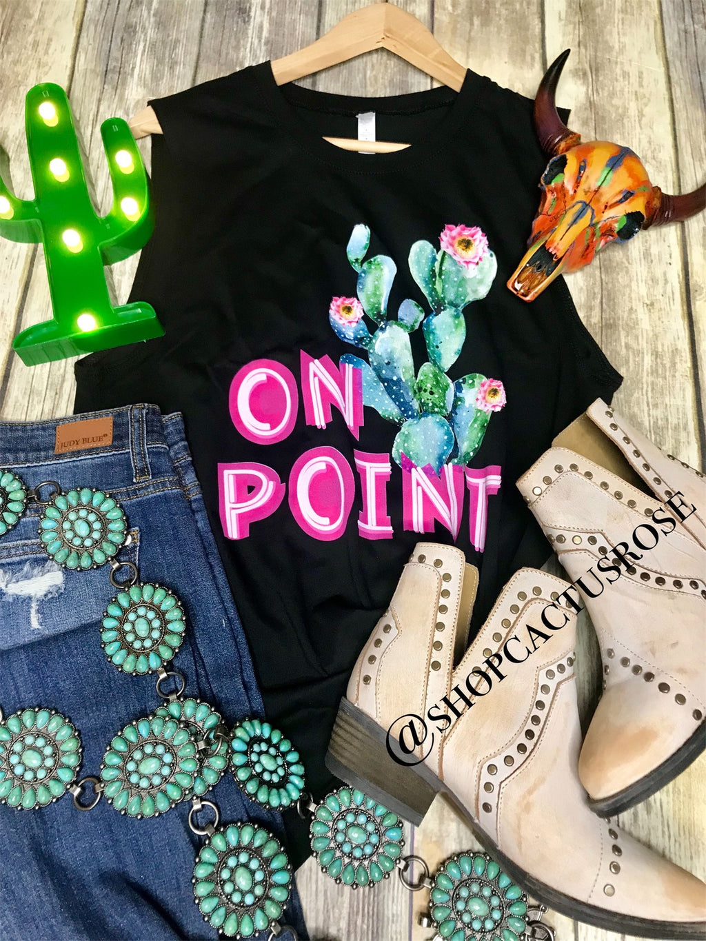 On Point Graphic Tank