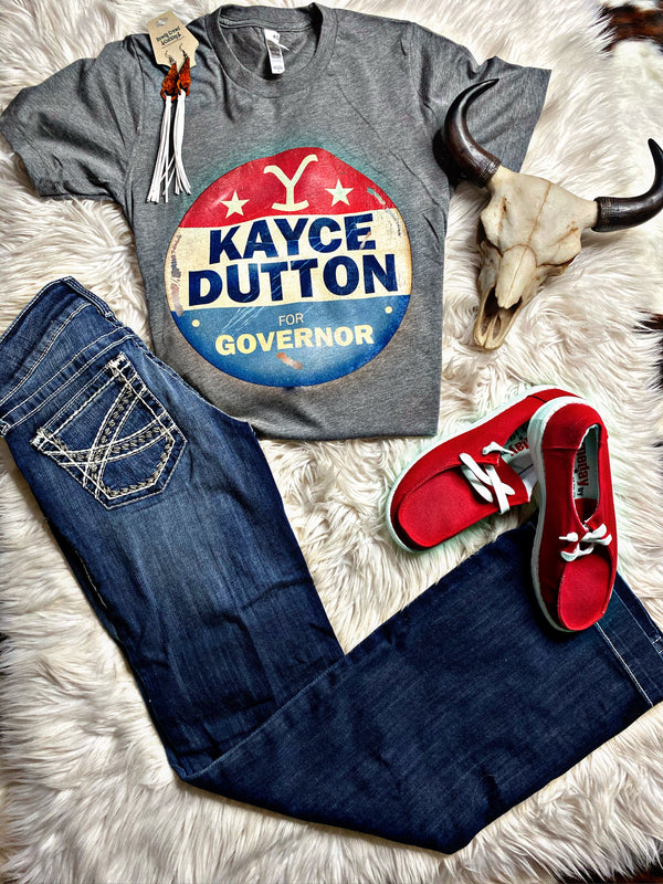Kayce Dutton For Governor Tee