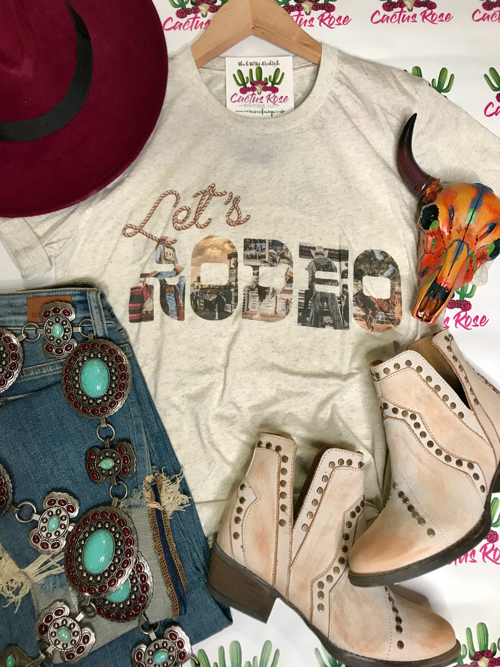 Let's Rodeo Tee