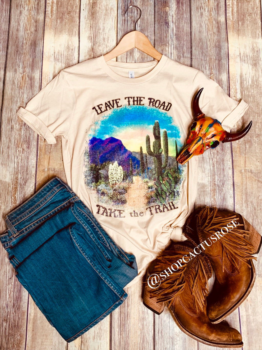 Take The Trail Tee