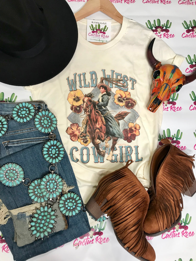 Wild West Cowgirl Tee