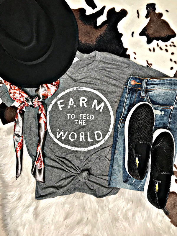 Farm To Feed The World Tee