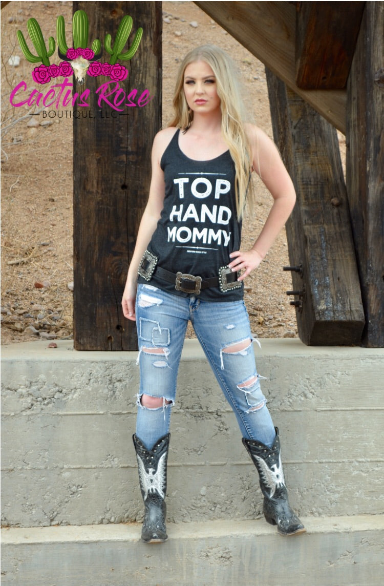 Top Hand Mommy Graphic Tank